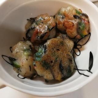 【離乳食完了期】えびとひじきの豆腐おやき