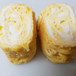 イエローパプリカの洋風卵焼き