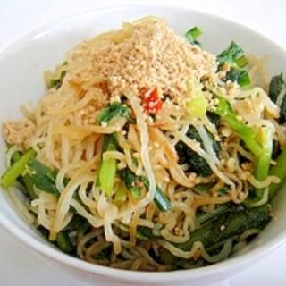 白滝の韓国風炒め☆冷蔵庫の余り野菜で☆