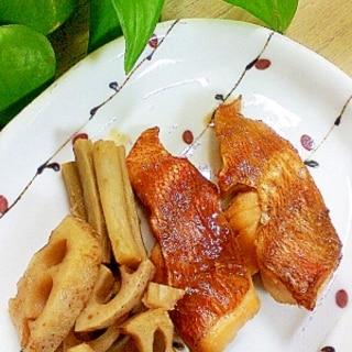 煮魚も温めません/金目鯛の煮付け♡おまけレシピ付