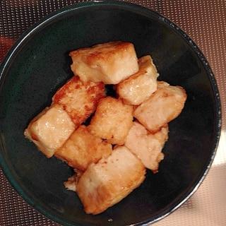 微妙に余った豆腐で!豆腐のめんつゆステーキ