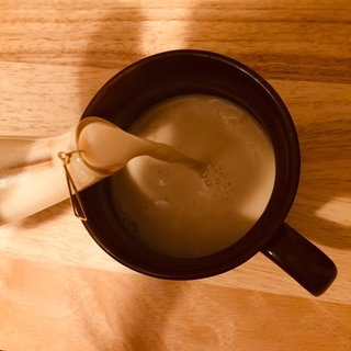 超初心者向け!!My Latte❤️ほうじ茶ラテ