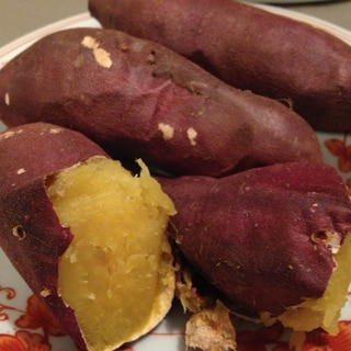 焼き芋(ノンフライヤー、ローファットフライヤーで)