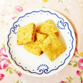 ビスケット風サクサク米粉クッキー