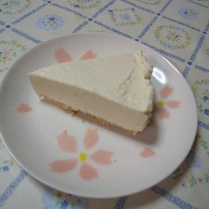 久しぶりの手作りレアチーズ!レシピ参考にさせていただき、自分好みの配分で、美味しくいただきましたー♪たくさん食べれて幸せでした(*´ー`*)