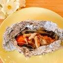 フライパンでꕤ鮭のバターホイル焼き✧˖°