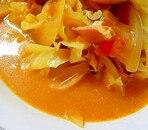 トマトのエスニックミルクスープ