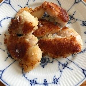 鶏肉のマスタードパン粉焼き