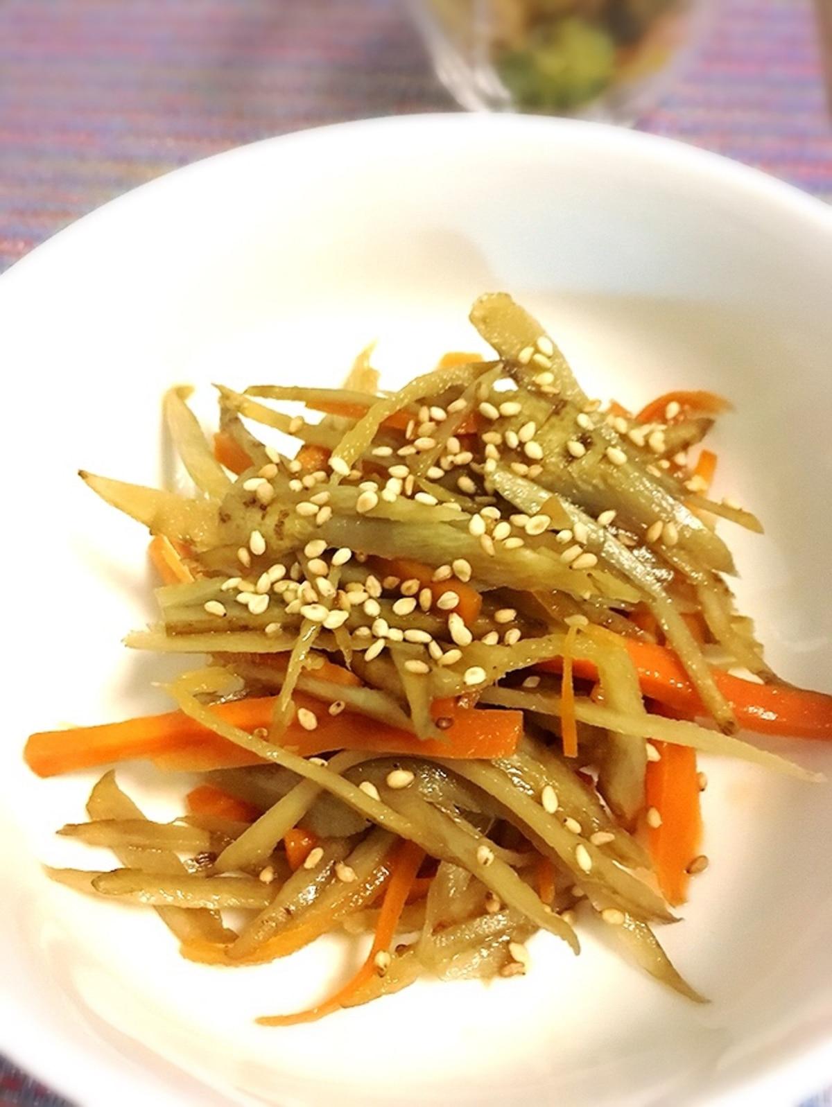 ごぼう の きんぴら 作り方 美味しい