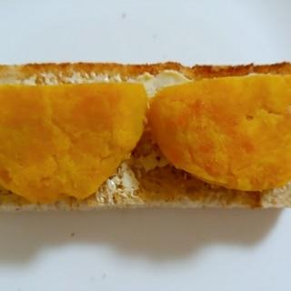 薩摩芋餅トースト