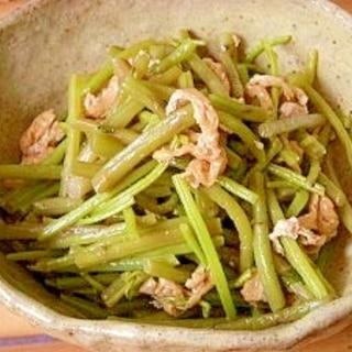山菜ミズの煮物