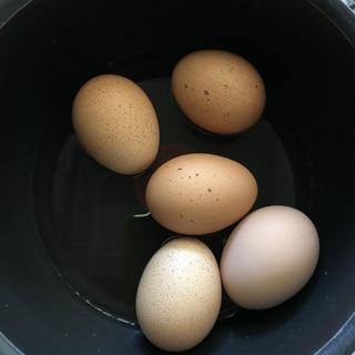 【ガス代節約】簡単!節約!ゆで卵の茹で方