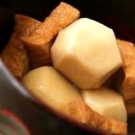 厚揚げと里芋の煮物