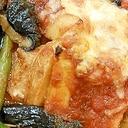 野菜のトマトチーズ焼き