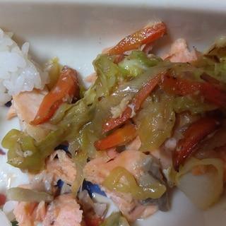 鮭のちゃんちゃん焼き(幼児食)