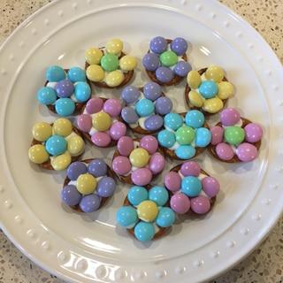 プレッツェルのマーブルチョコクッキー