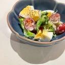 簡単和えるだけ*ブロッコリーとゆで卵のサラダ