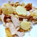 鶏の胸肉とじゃがいもの炒め物