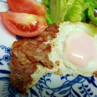 豚薄切り肉で自家製ベーコン