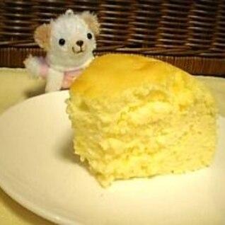 ふくらみすぎ!?ふっわふわ♪のスフレチーズケーキ★