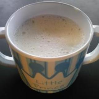 簡単離乳食☆バナナミルクシェイク(9ヶ月~)