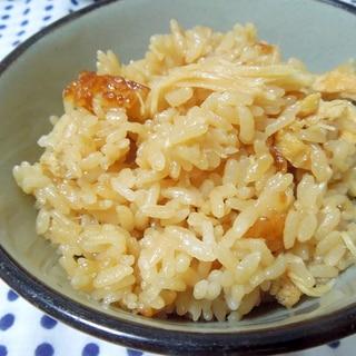 美味しい~♪新生姜と油揚げの炊き込みご飯