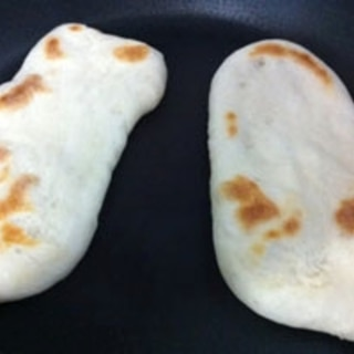 自家製天然酵母で作るナン