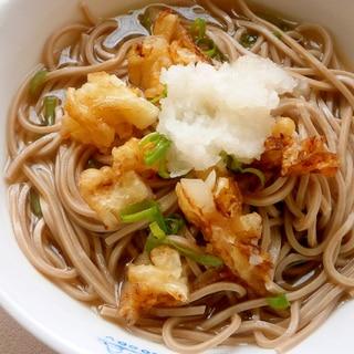 天ぷらおろし蕎麦