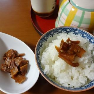お茶漬けに!タケノコの佃煮