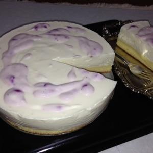 生クリームなし♪レアチーズケーキ