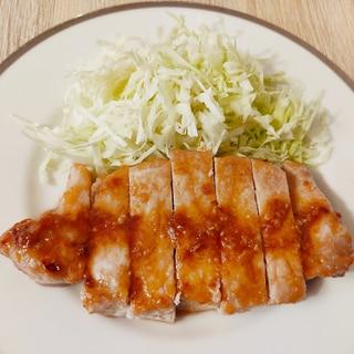 塩麹で柔らか☆簡単トンテキ
