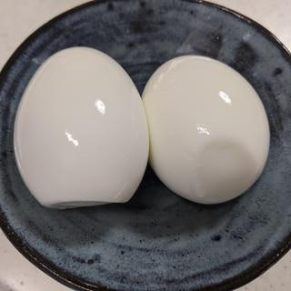 ゆで卵?いいえ、塩たまごです
