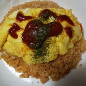まるで洋食屋さん♡特製トマトソースのオムライス♡