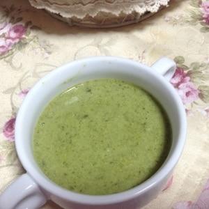 大根の葉deポタージュスープ