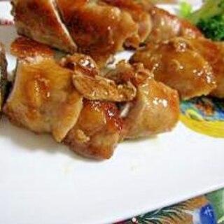 豚肉のえのき巻き照り焼き