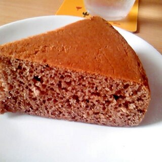 炊飯器でケーキ!アールグレイココアケーキ