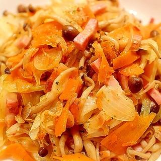 パスタソースでダイエット食!野菜のペペロンチーノ