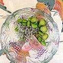 板蒲鉾、枝豆、胡瓜、ちりめんの和え物