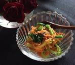 にんじんと小松菜のお浸し