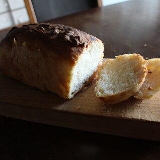 こねない、生地に触らない 天然酵母パン