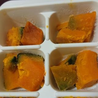 離乳食完了期 かぼちゃの煮物