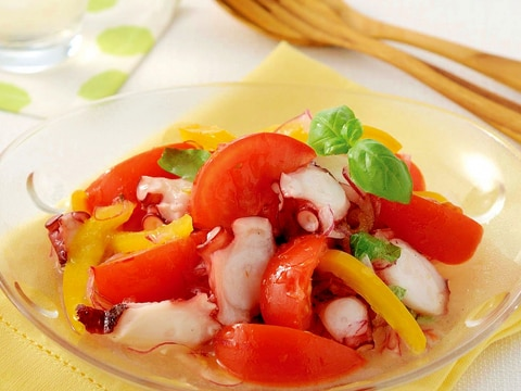 トマトとたこのイタリアンマリネ