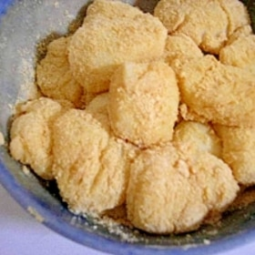 豆乳きなこ餅♪