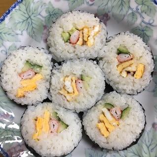 100均巻き寿司器で。ぶきっちょでも簡単巻き寿司