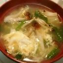 野菜と卵のとろとろ中華スープ