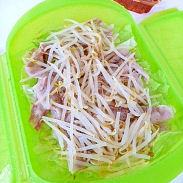 レンジ 豚 バラ キャベツ