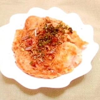 米粉とおからのふんわりお好み焼き風