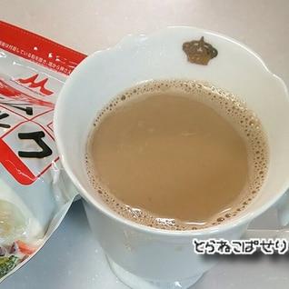 スキムミルクでカフェオレ