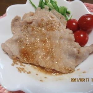 軟らか☆豚のニンニク生姜焼き