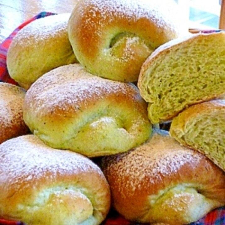 春の香りふんわかよもぎパン